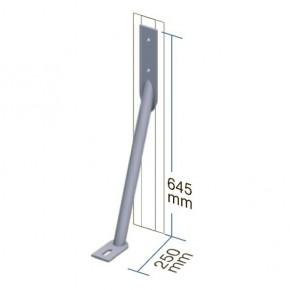TraumGarten Wind-/ Sturmanker KYRILL Universal feuerverzinkt - 6 x 25 x 65 cm