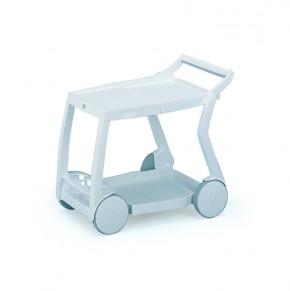 Best Servierwagen Galileo weiß