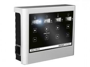 Karibu Steuergerät easy finnisch schwarz für Starkstromöfen mit 9 KW Leistung