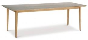 Best Gartentisch Lagos rechteckig - 230x90x77 cm - Eukaltyptus/Beton