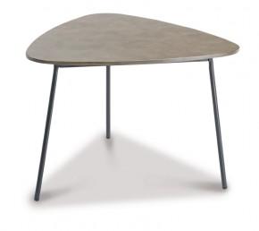 Best Beistelltisch Andros groß - 80x77x55 cm - Stahl/Beton