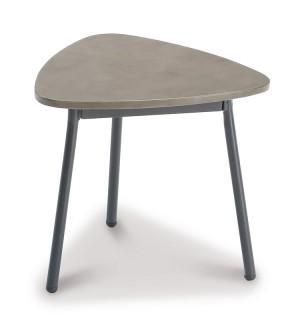 Best Beistelltisch Andros klein - 40x38x35 cm - Stahl/Beton