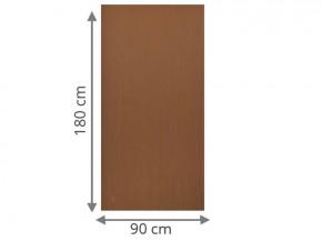 TraumGarten Sichtschutzzaun System Board Aluminium Rechteck rost - 90 x 180 x 0,6 cm