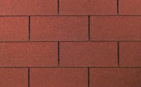 Wolff Finnhaus Holz-Gartenhaus Dachschindeln -  Rechteck rot