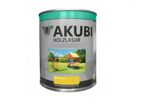 Holz-Lasur Zitronengelb Farbe Set 750 ml