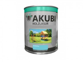 Holz-Lasur Ozeanblau Farbe Set 750 ml