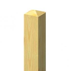 TraumGarten Zaunpfosten Select Nadelholz kdi - 9 x 9 x 105 cm