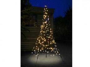 Fairybell LED Weihnachtsbaum außen - christmas tree - Maße 300 x 140 cm - 360 LED-Lampen: warmweiß