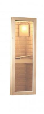 Karibu Sauna Fenster 38/40 mm (42 cm breit und 122 cm lang) Zubehör