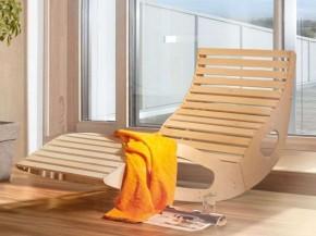 WEKA Saunaliege Exklusive Wellnessliege inkl.  Saunabadetuch von WEKA