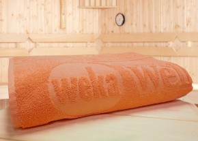 WEKA Sauna Zubehör Spezial-Saunahandtuch Mandarin