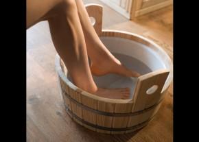 WEKA Sauna Zubehör Fußkübel aus Fichtenholz