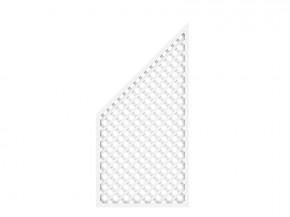 TraumGarten Rankgitter Kunststoff Longlife Anschluss weiß - 90 x 180 auf 90 cm