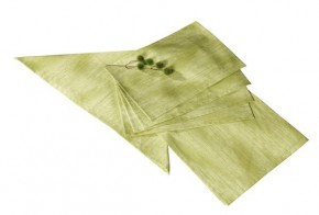 Best Tischset Platzset 4-tlg. 48 x 32cm Dessin-Nr.: 1477 Farbe: grün