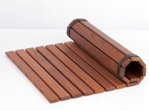 Sauna Zubehör Bodenmatte aus Thermoholz