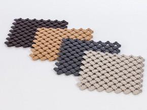 Sauna Zubehör Bodenmatte PVC anthrazit-grau