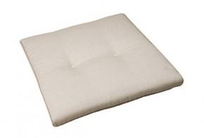 Best Stuhlauflage konisch 44 x 48/44 x 5cm Dessin Nr.: 1230 Farbe: weiss
