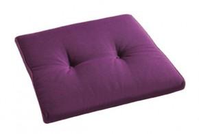 Best Stuhlauflage konisch 44 x 48/44 x 5cm Dessin Nr.: 1234 Farbe: lila