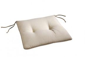 Best Stuhlauflage konisch 45 x 46/42 x 5cm Dessin Nr.: 1230 Farbe: weiss