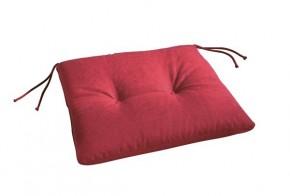 Best Stuhlauflage konisch 45 x 46/42 x 5cm Dessin Nr.: 1361 Farbe: rot