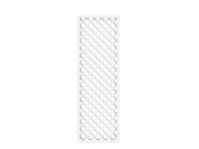 TraumGarten Rankgitter Kunststoff Longlife Rechteck weiß - 60 x 180 cm