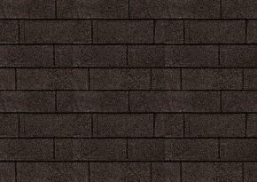 Karibu Dachschindeln Rechteck - Schwarz