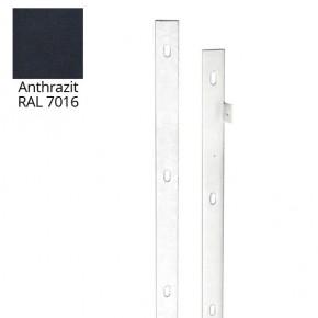 Doppelstabgitterzaun VARIO trend Zaun-Anschlussleiste 7016 - Länge: 830 mm
