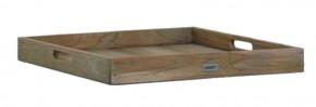 Best Teak-Serviertablett Moretti 60x60cm grey-wash