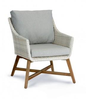 Best Lounge-Sessel Paterna Teakholz/alabaster