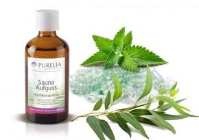 Purelia Saunaaufguss Duft 50 ml Eukalyptus-Menthol - Saunaduft