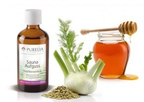 Purelia Saunaaufguss Duft 50 ml Fenchel-Honig - Saunaduft