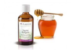 Purelia Saunaaufguss Duft 50 ml Honig Gold