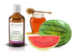 Purelia Aufgusskonzentrat Saunaduft 50 ml Honig-Melone