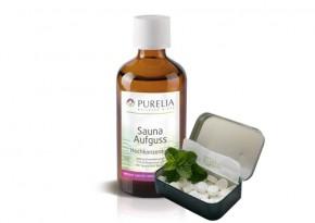 Purelia Saunaaufguss Duft 50 ml Pfefferminz-Menthol - Saunaduft