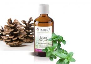 Purelia Saunaaufguss Duft 50 ml Tannenminze - Saunaduft