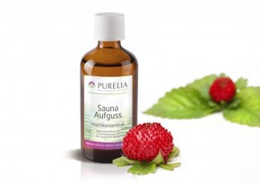 Purelia Saunaaufguss Duft 50 ml Wilde Erdbeere - Saunaduft