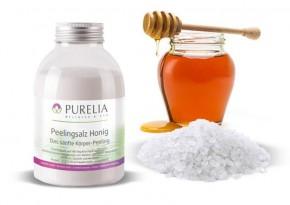 Purelia Salzpeeling Sauna Peeling 120 g Honig