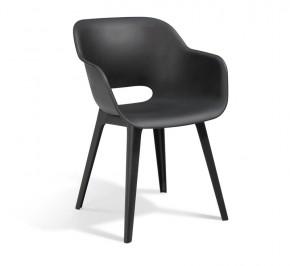 Best Vollkunststoff-Sessel Split - Dining-Sessel - Vollkunststoff - graphit