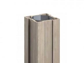 TraumGarten Zaunpfosten Longlife polareiche - 8 x 8 x 195 cm