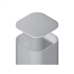 TraumGarten Zaunpfosten Universal Set silber zum Aufschrauben - 7 x 7 x 105 cm
