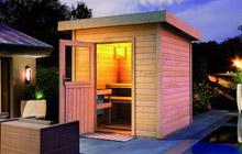 Ohne Vorraum Oder Schnick Schnack Haben Sie Nach Aufbau Direkt Die Outdoor Sauna Ihrer