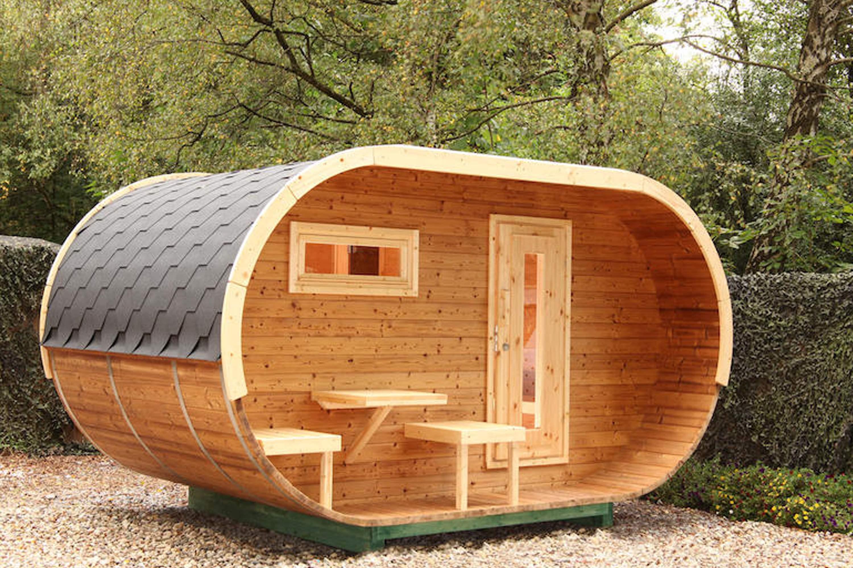 Gartensauna direkt vom Fachmarkt kaufen - Sauna & Wellness