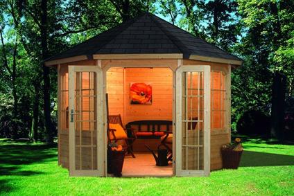 Gartenlauben Und Holzpavillon Als Bausatz Gunstig Online Kaufen