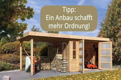 Favorit Geräteschuppen für Garten, Terrasse u. Co. online kaufen FU02