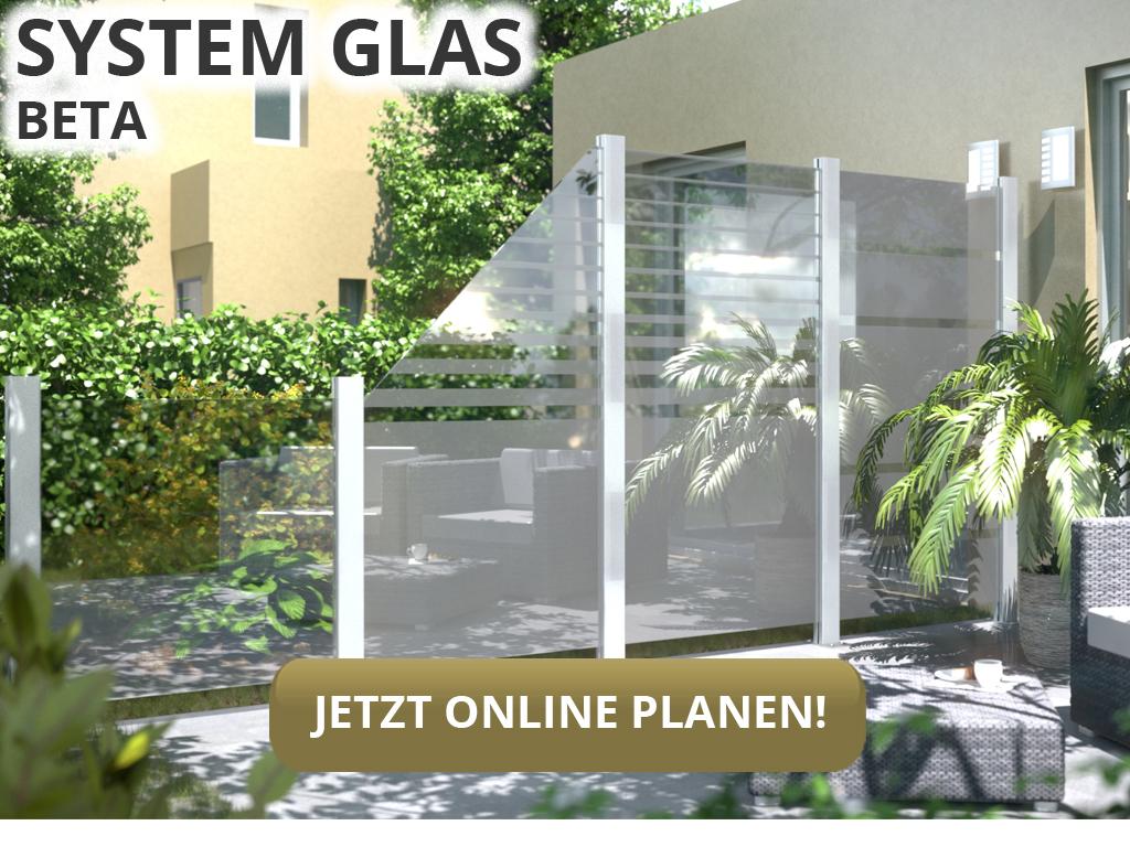 Sichtschutzzaun System Glas Von Traumgarten Glaszaun Hier Kaufen