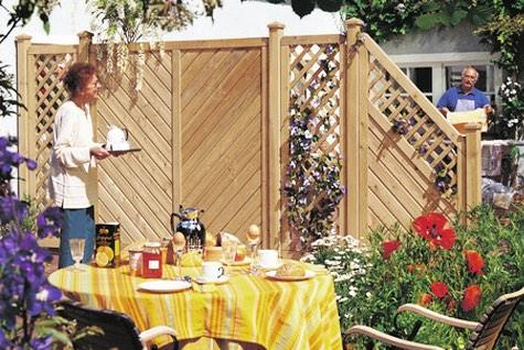Sichtschutz Zaun Günstig Selber Bauen